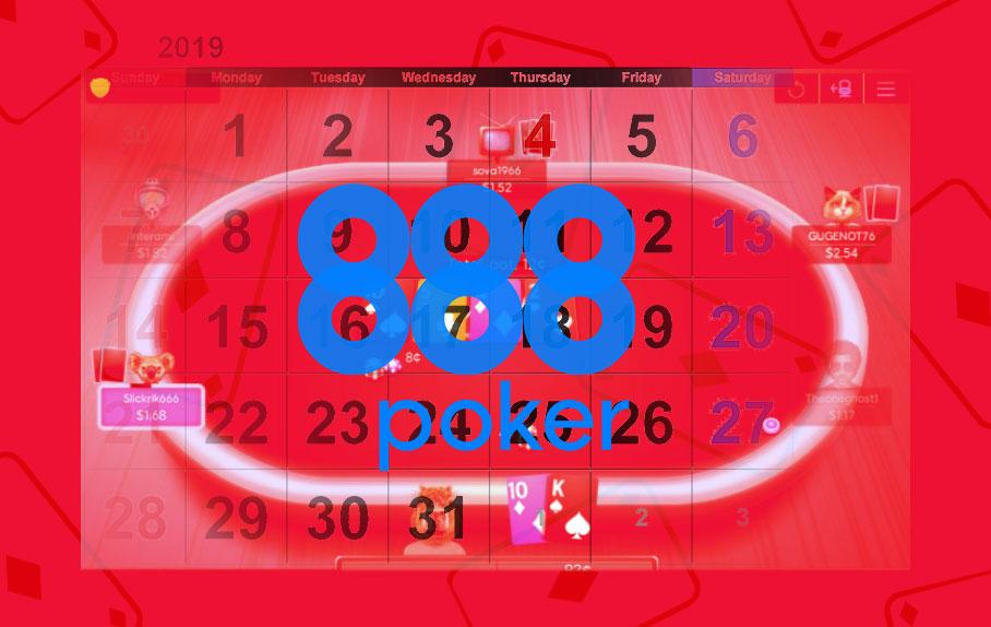 Прибыльность рума 888poker за первую половину 2019 года